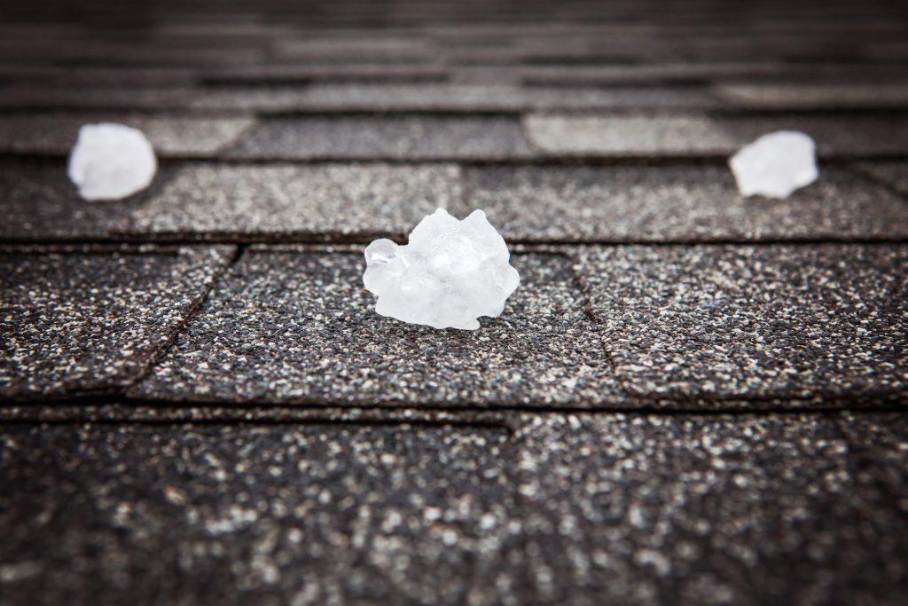 Ice on roof